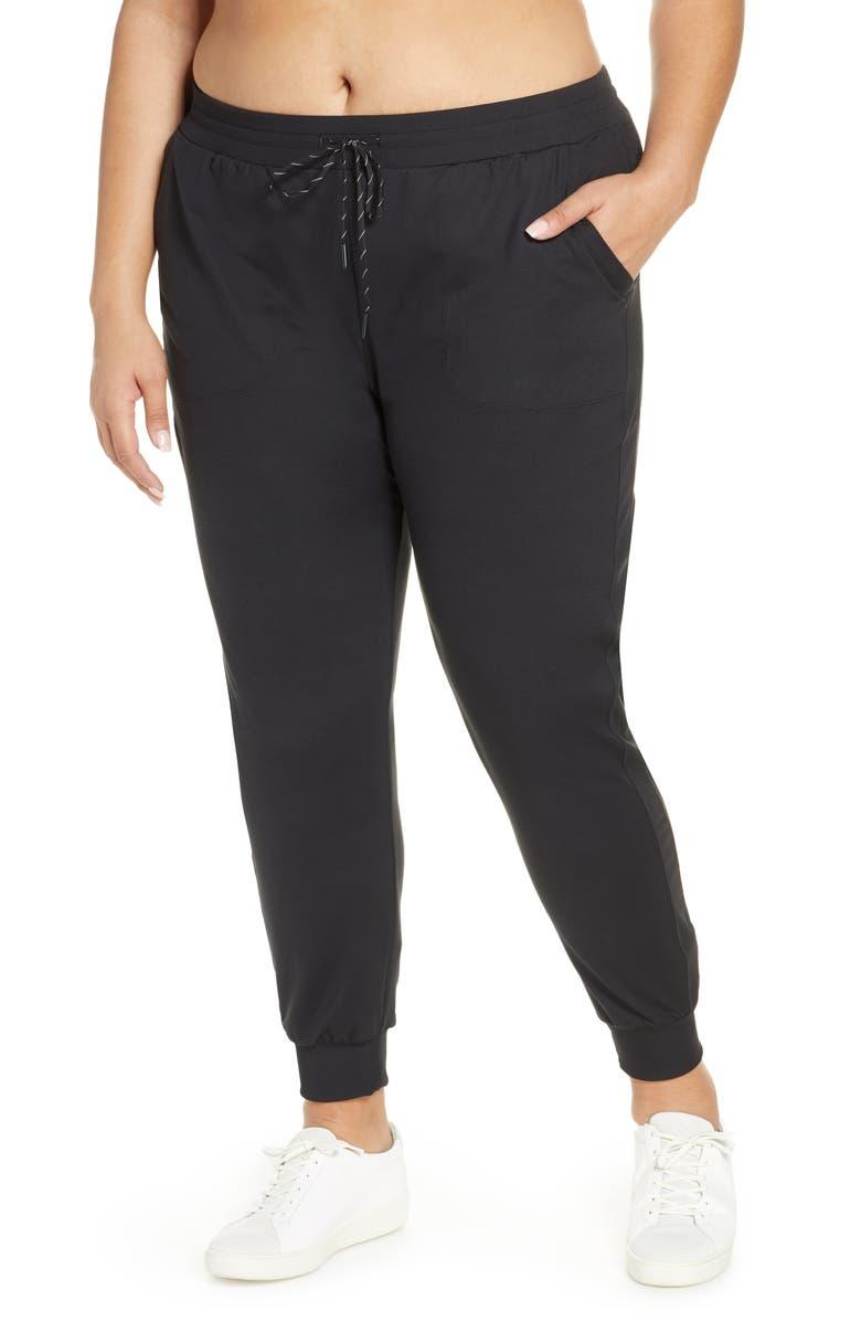 ZELLA Live In Pocket Jogger Pants, Main, color, BLACK