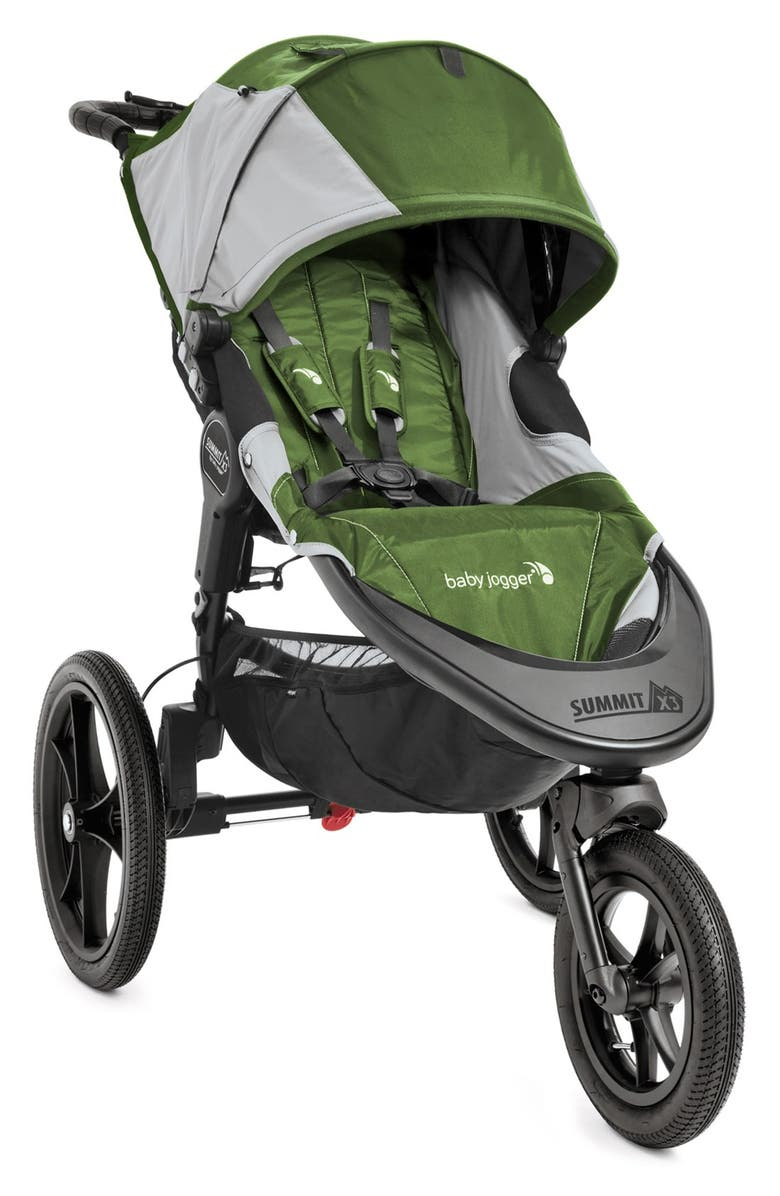 BABY JOGGER Summit<sup>™</sup> X3 Single Jogging Stroller, Main, color, 300