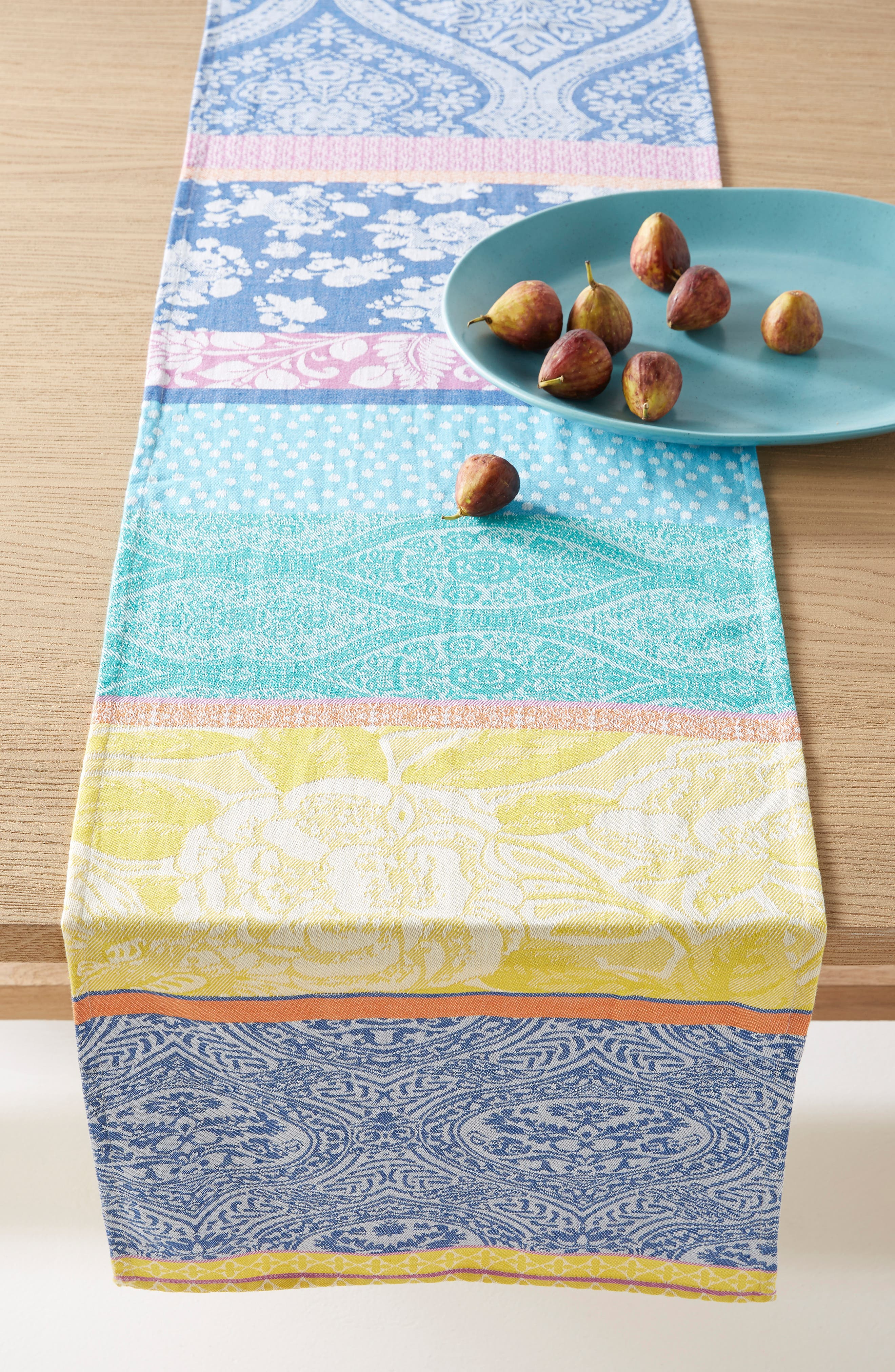 Anthropologie Florita Table Runner Size One Size  Blue