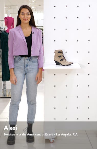 Lace-Up Western Bootie, sales video thumbnail