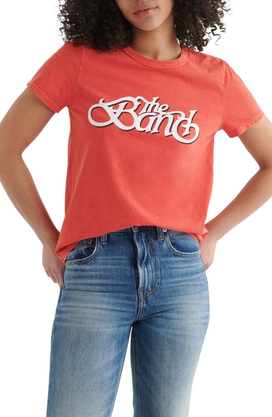 Lucky Brand THE BAND CORE CLASSIC GRAPHIC TEE