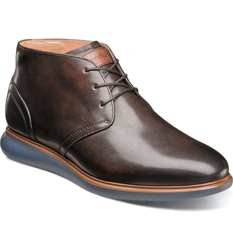 FLORSHEIM Fuel Chukka Boot, Main, color, BROWN LEATHER