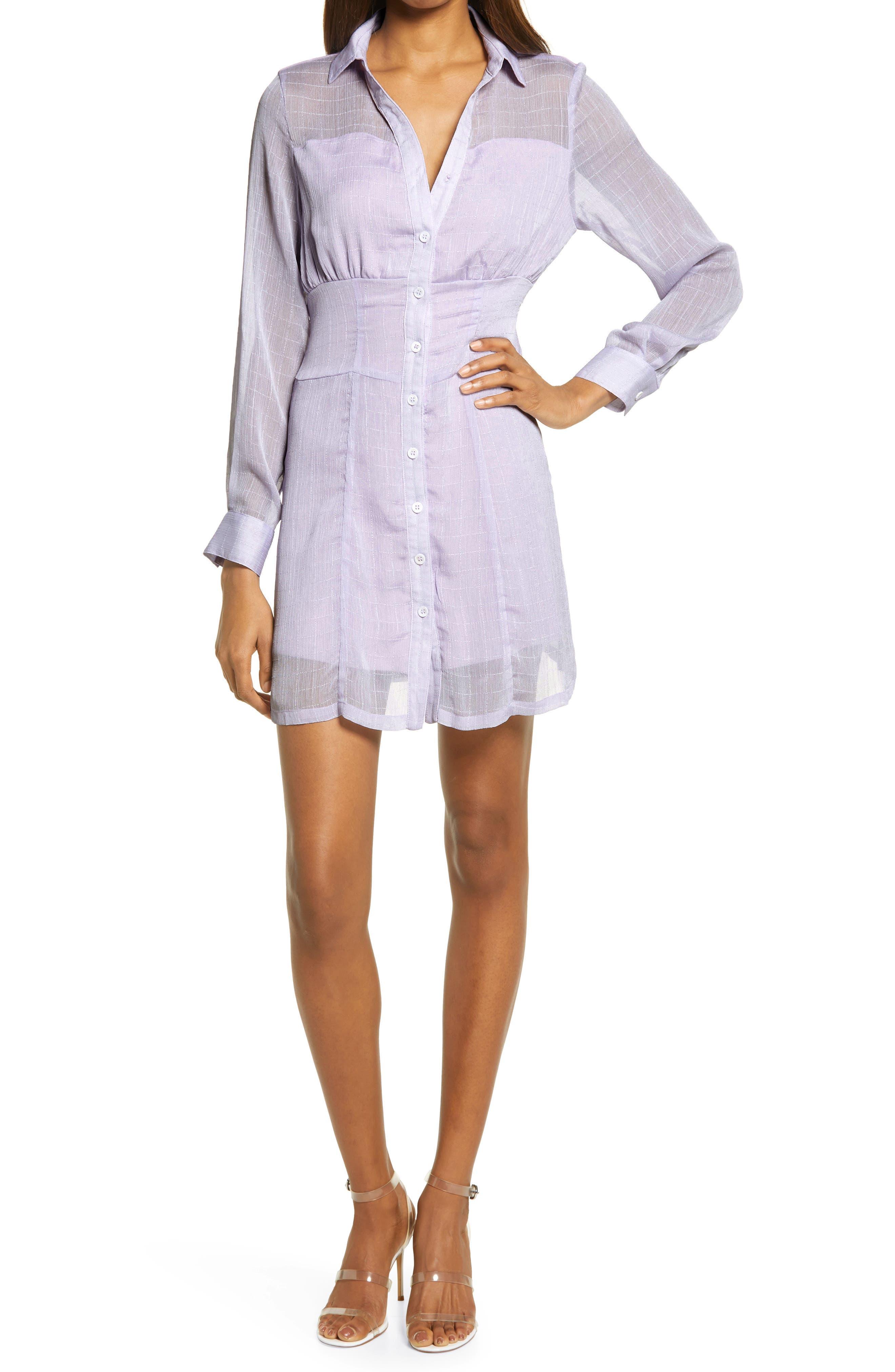 Orla Long Sleeve Mini Shirtdress