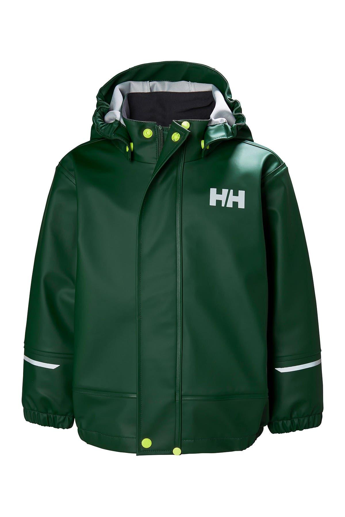 Helly-Hansen Unisex Kids Jr Moss Waterproof Rain Shell Jacket