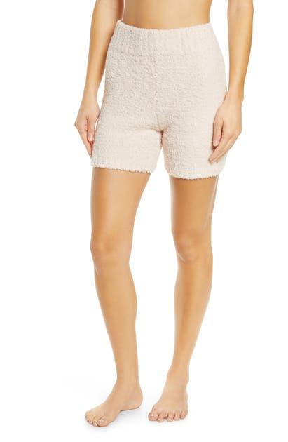 Skims Cozy Knit Shorts In Dusk