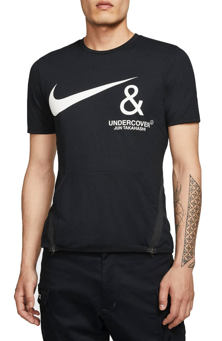 NIKE x Undercover NRG Pocket T-Shirt, Main, color, BLACK/ WHITE