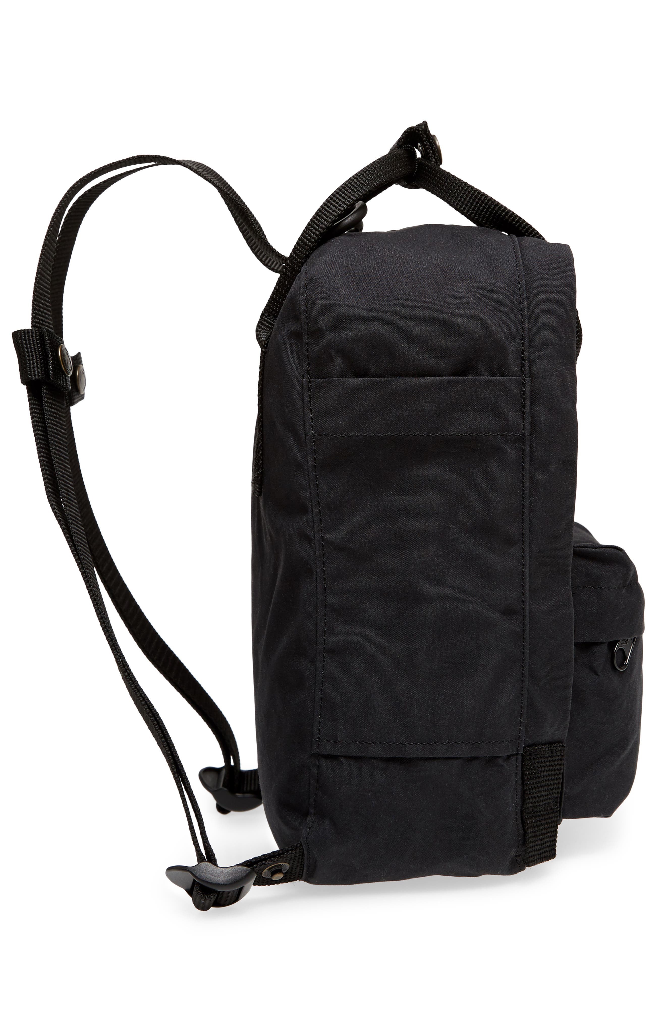 ,                             'Mini Kånken' Water Resistant Backpack,                             Alternate thumbnail 6, color,                             BLACK