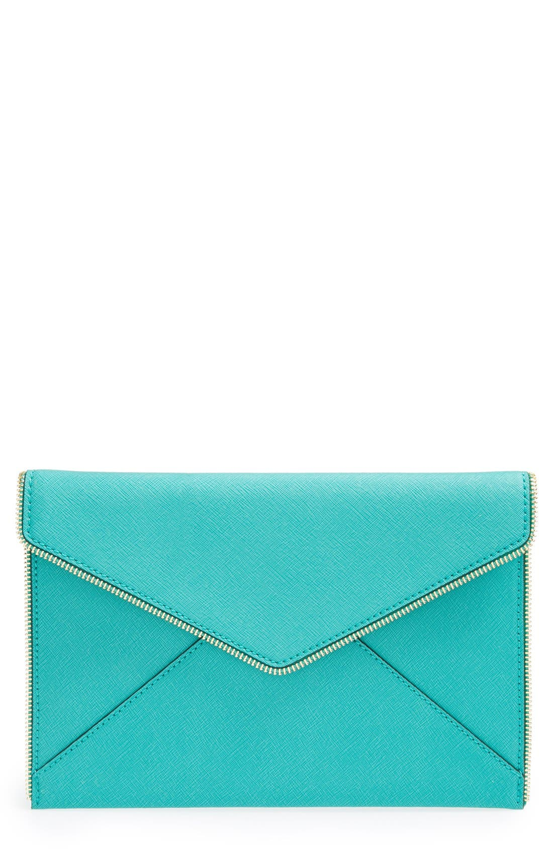,                             Leo Envelope Clutch,                             Main thumbnail 204, color,                             441