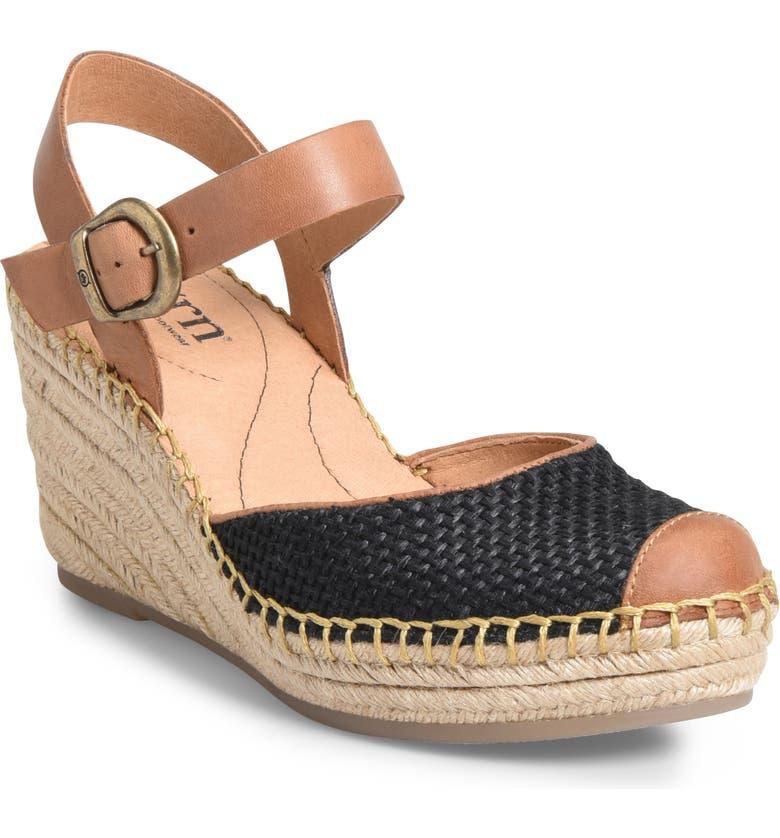 BØRN Guadalupe Wedge Sandal, Main, color, 001