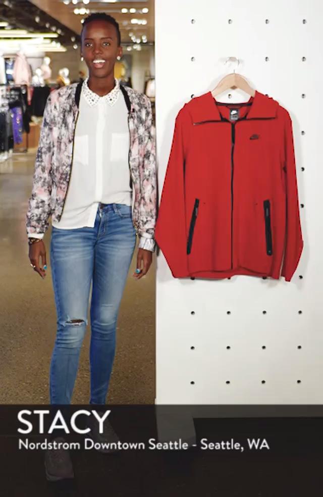 Sportswear Tech Full Zip Hoodie, sales video thumbnail