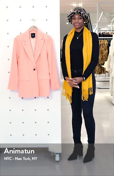 Wool Crepe Blazer, sales video thumbnail