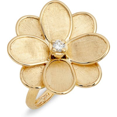 Marco Bicego Petali Diamond Flower Cocktail Ring