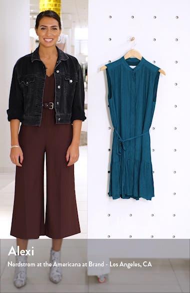 Sleeveless Ruffle Hem Dress, sales video thumbnail