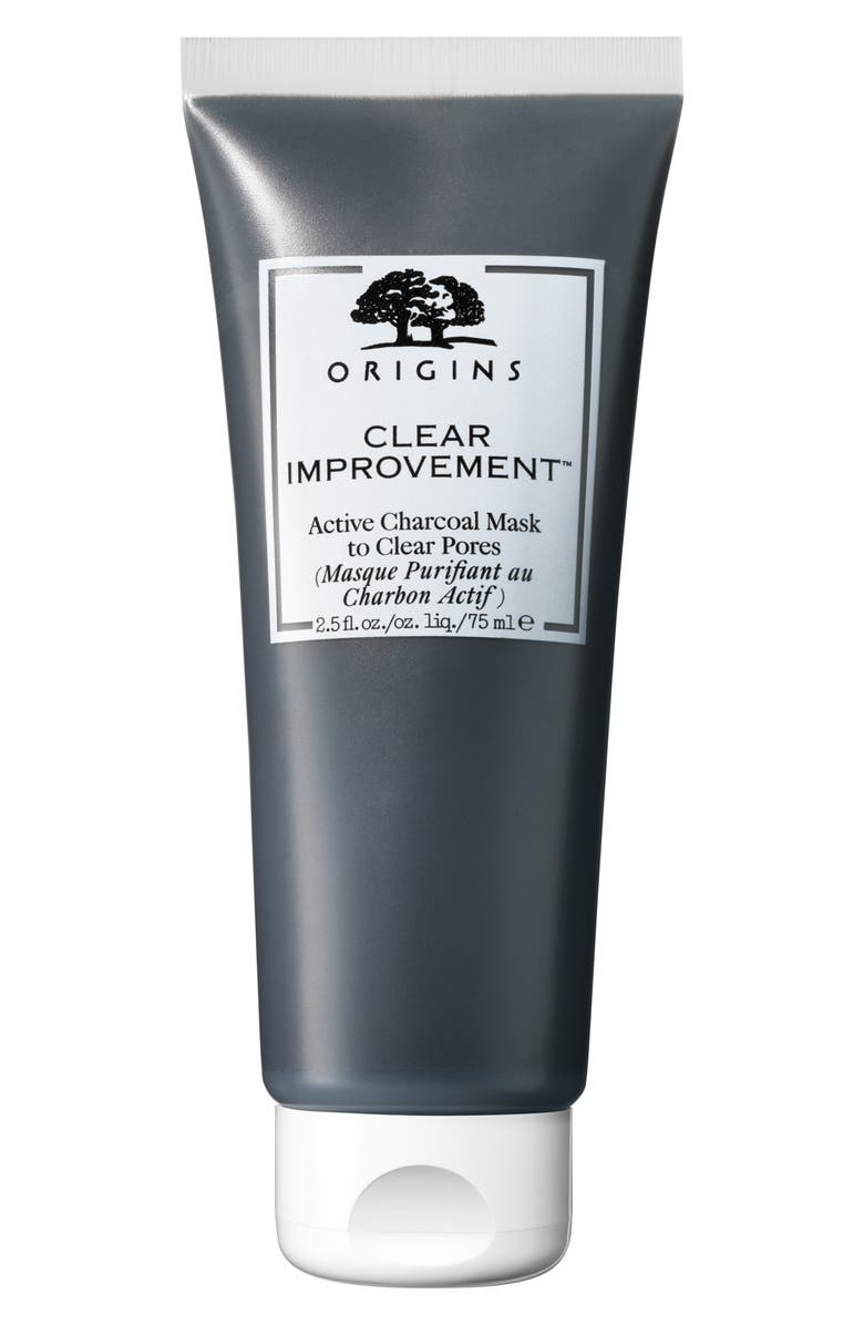 ORIGINS Clear Improvement<sup>™</sup> Active Charcoal Mask, Main, color, 000