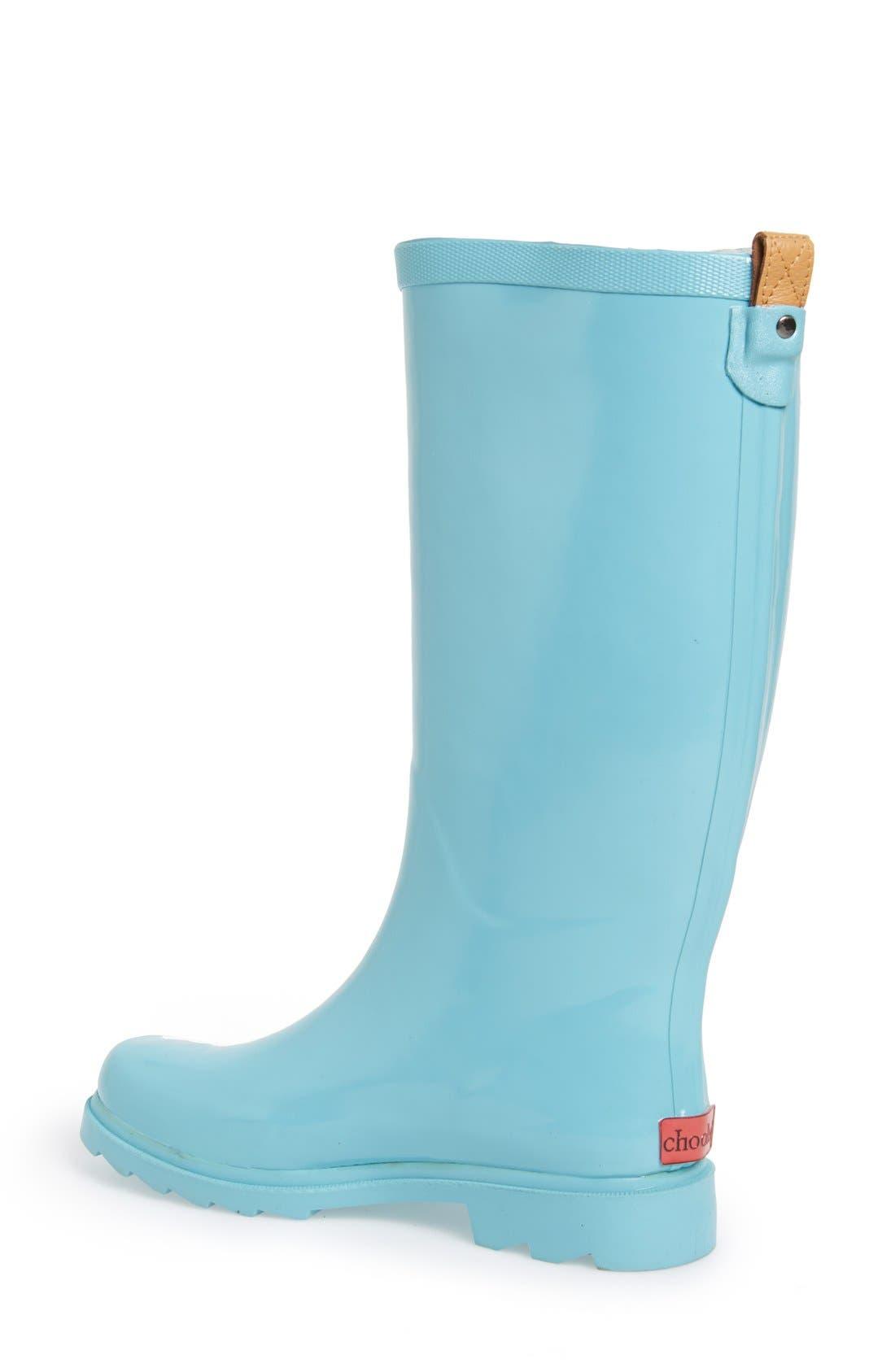 ,                             'Top Solid' Rain Boot,                             Alternate thumbnail 96, color,                             452