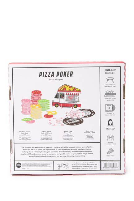 Image of WILD AND WOLF Pizza Poker