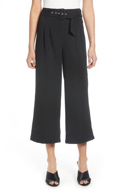 Image of J.O.A. Belted Wide Leg Pants