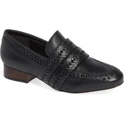 Matisse Edith Woven Loafer, Black