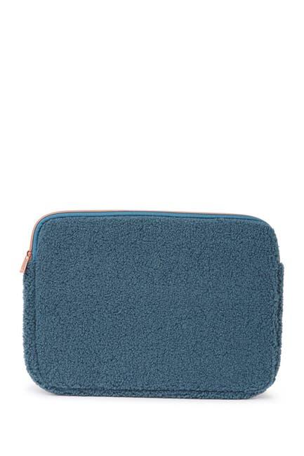 Image of MYTAGALONGS Harlow Faux Shearling Laptop Sleeve