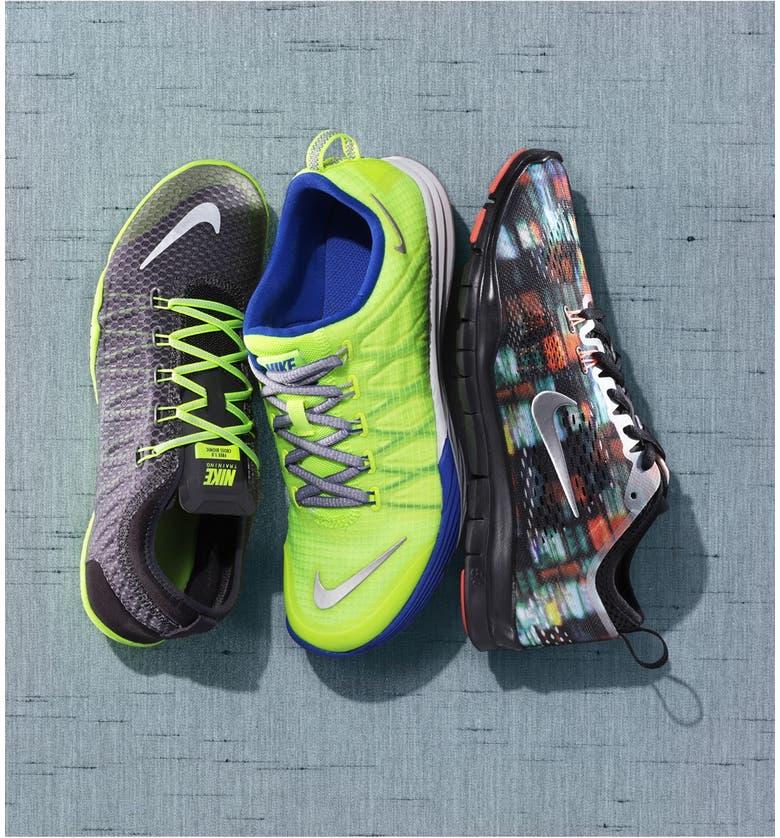 NIKE 'Lunar Cross Element' Training Shoe, Main, color, 021