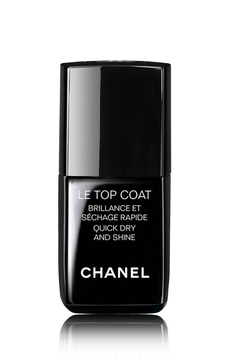 CHANEL LE TOP COAT Quick Dry and Shine, Main, color, NO COLOR