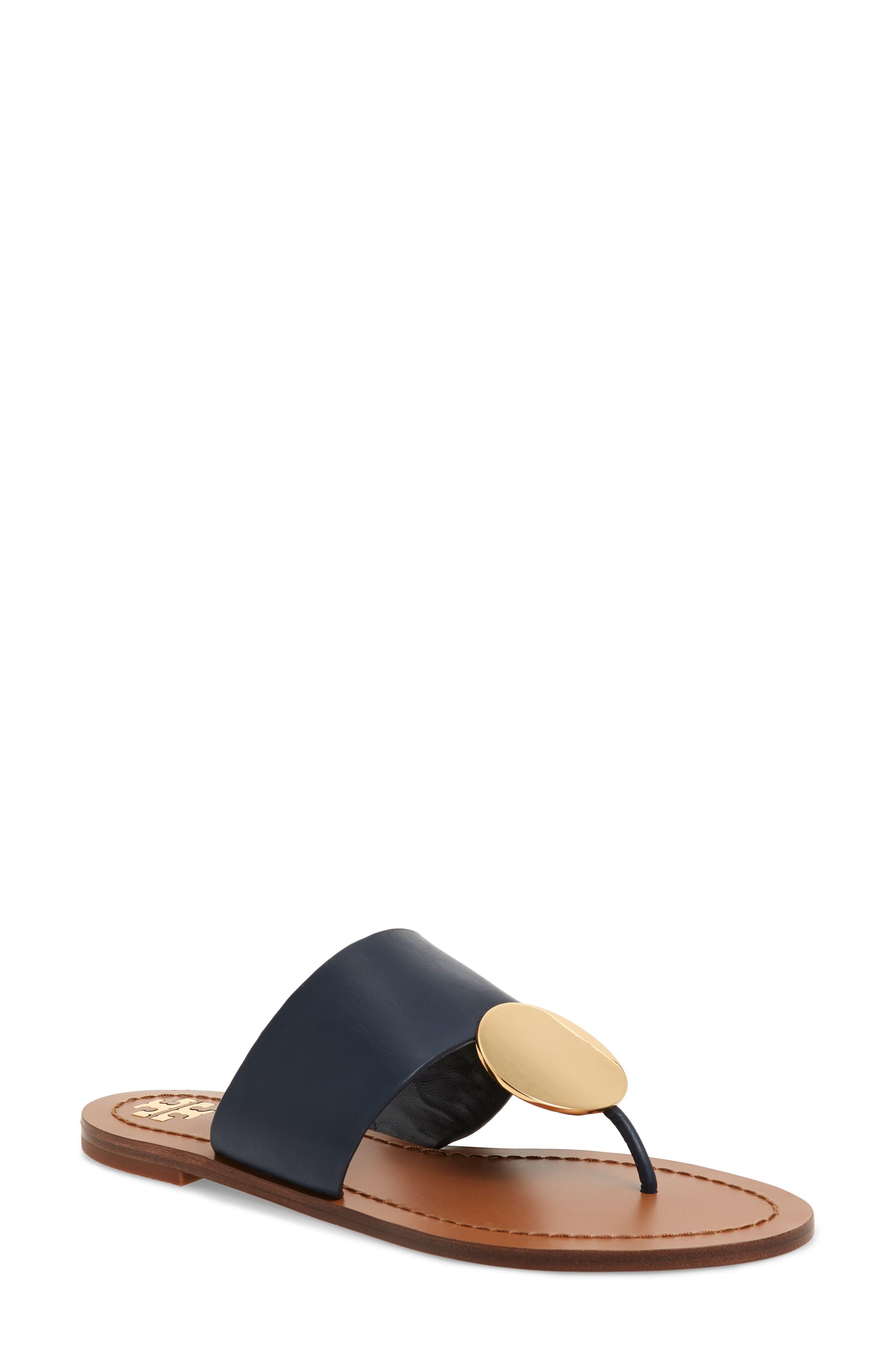 Tory Burch Patos Sandal- Blue