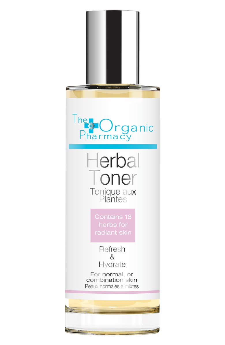 THE ORGANIC PHARMACY Herbal Toner, Main, color, NO COLOR