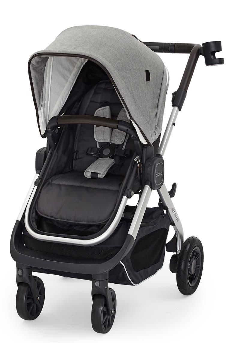 DIONO Quantum Luxe Stroller, Main, color, CLASSIC - GREY LIGHT