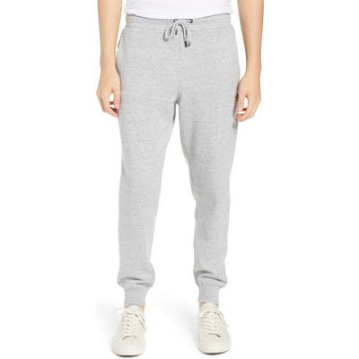 Volcom Single Stone Slim Fit Fleece Sweatpants, Grey