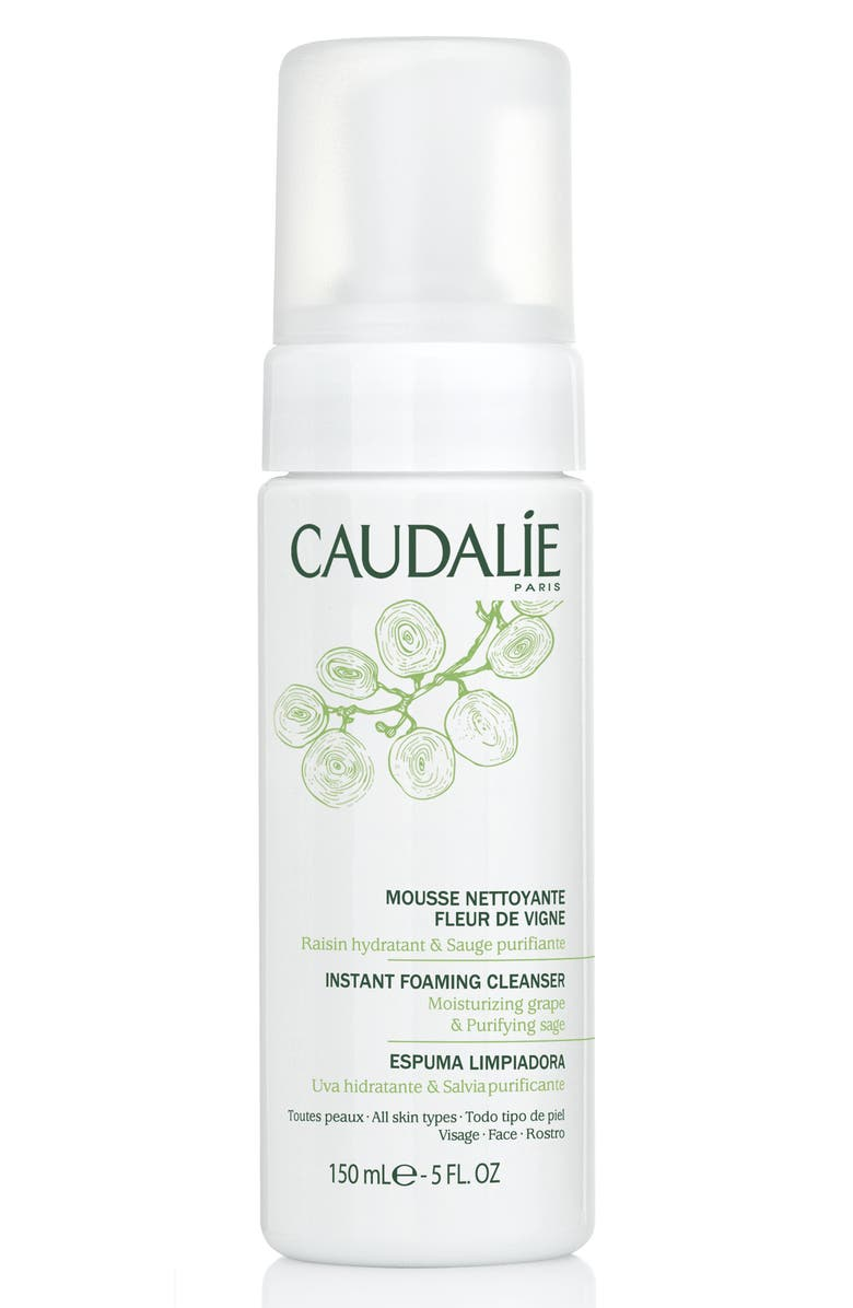 CAUDALÍE Instant Foaming Cleanser, Main, color, 000