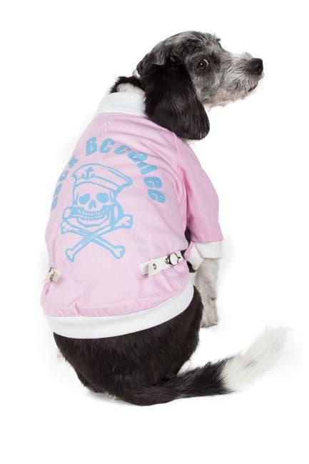 Image of PETKIT Varsity-Buckled Collared Pet Coat - Medium