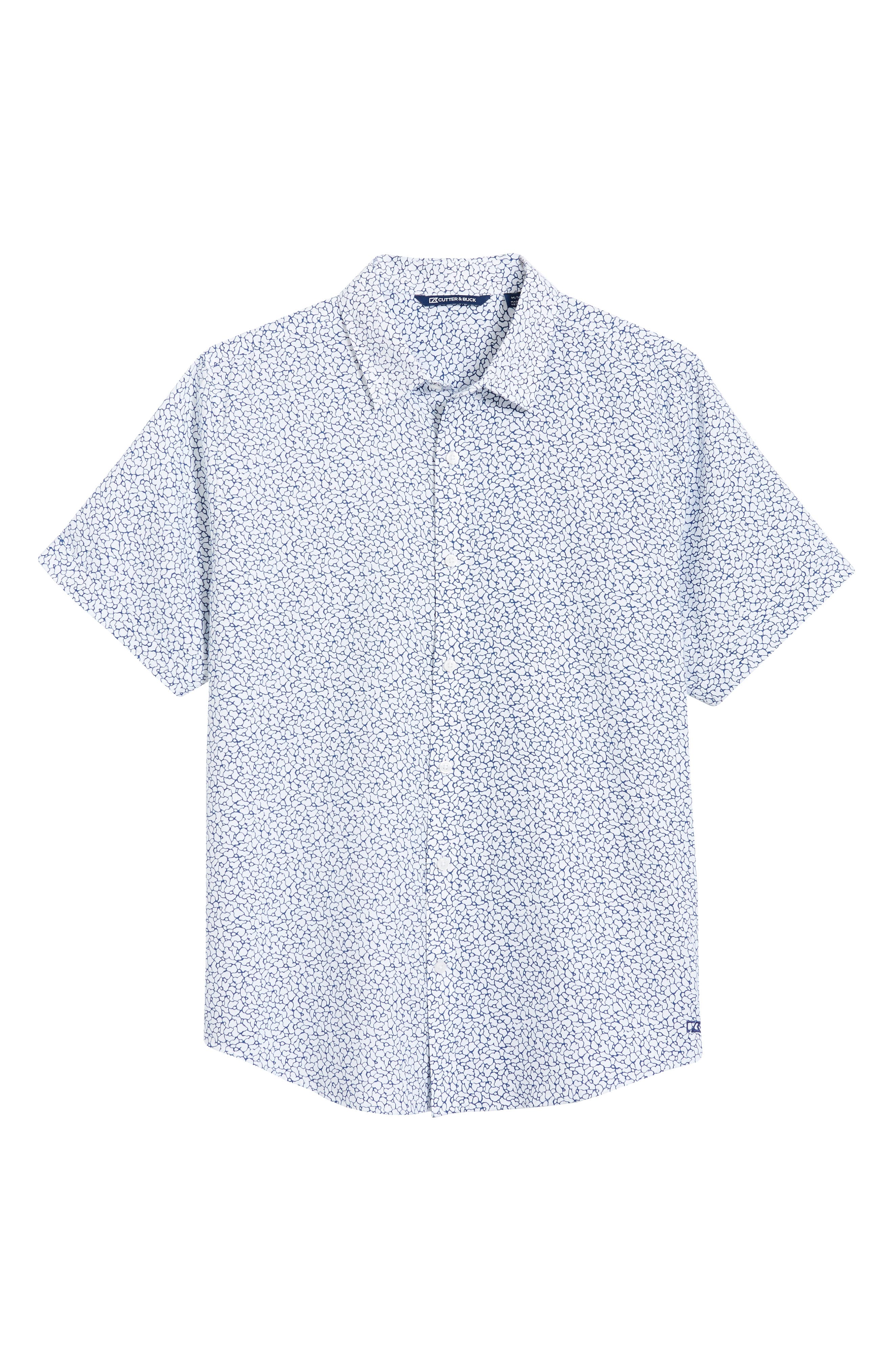 Windward Mineral Short Sleeve Button-Up Shirt