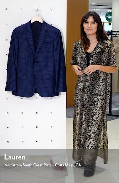Trim Fit Dot Wool Sport Coat, sales video thumbnail