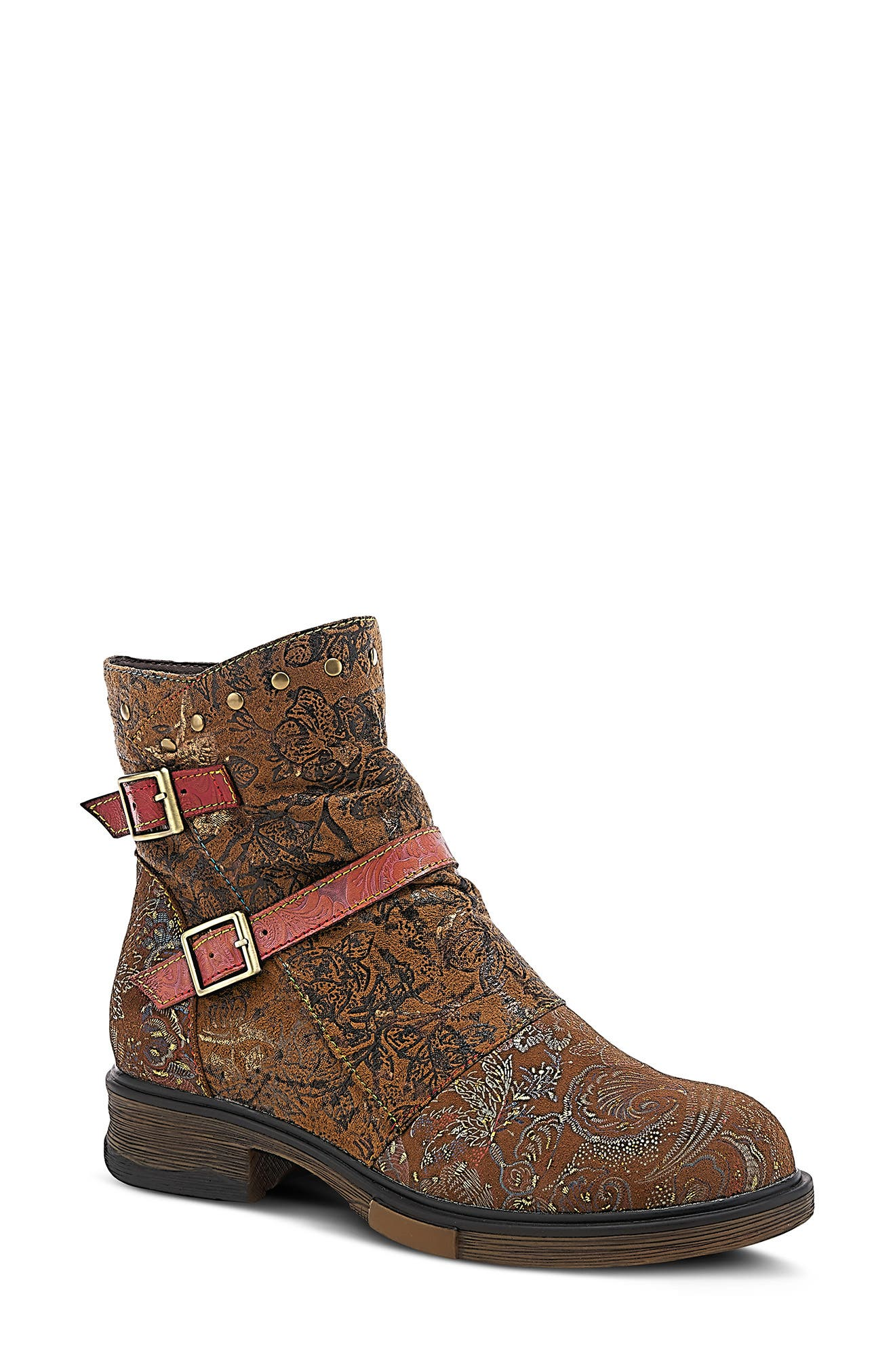By Spring Step Success Buckle Bootie