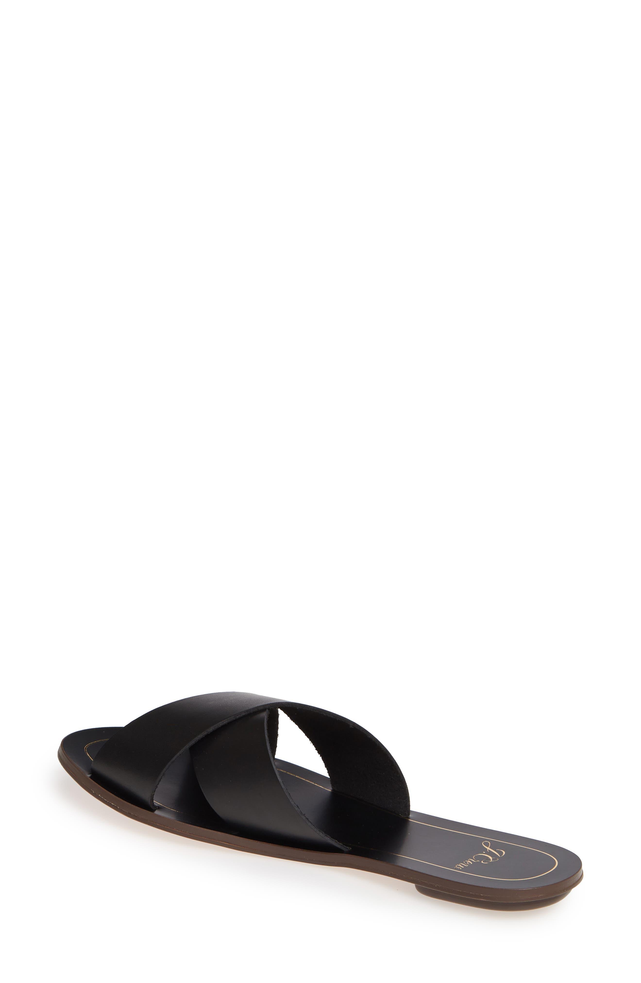 ,                             Cyprus Slide Sandal,                             Alternate thumbnail 2, color,                             BLACK