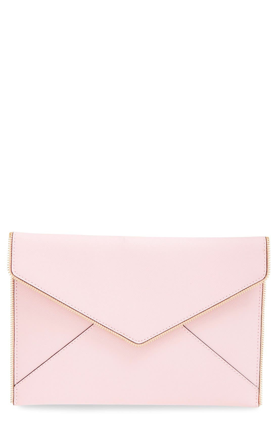,                             Leo Envelope Clutch,                             Main thumbnail 271, color,                             656