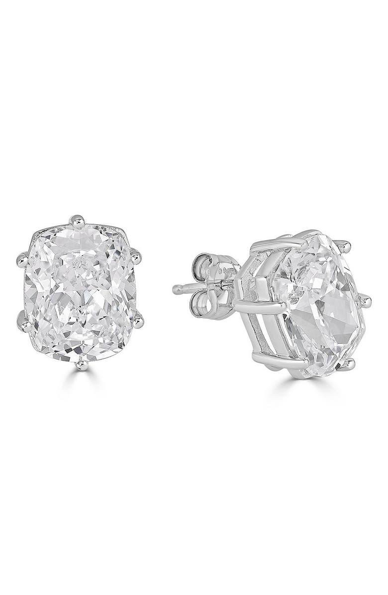 THOMAS LAINE Lucille Cubic Zirconia Stud Earrings, Main, color, 040