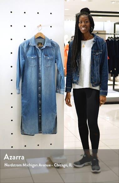 Western Denim Midi Shirtdress, sales video thumbnail