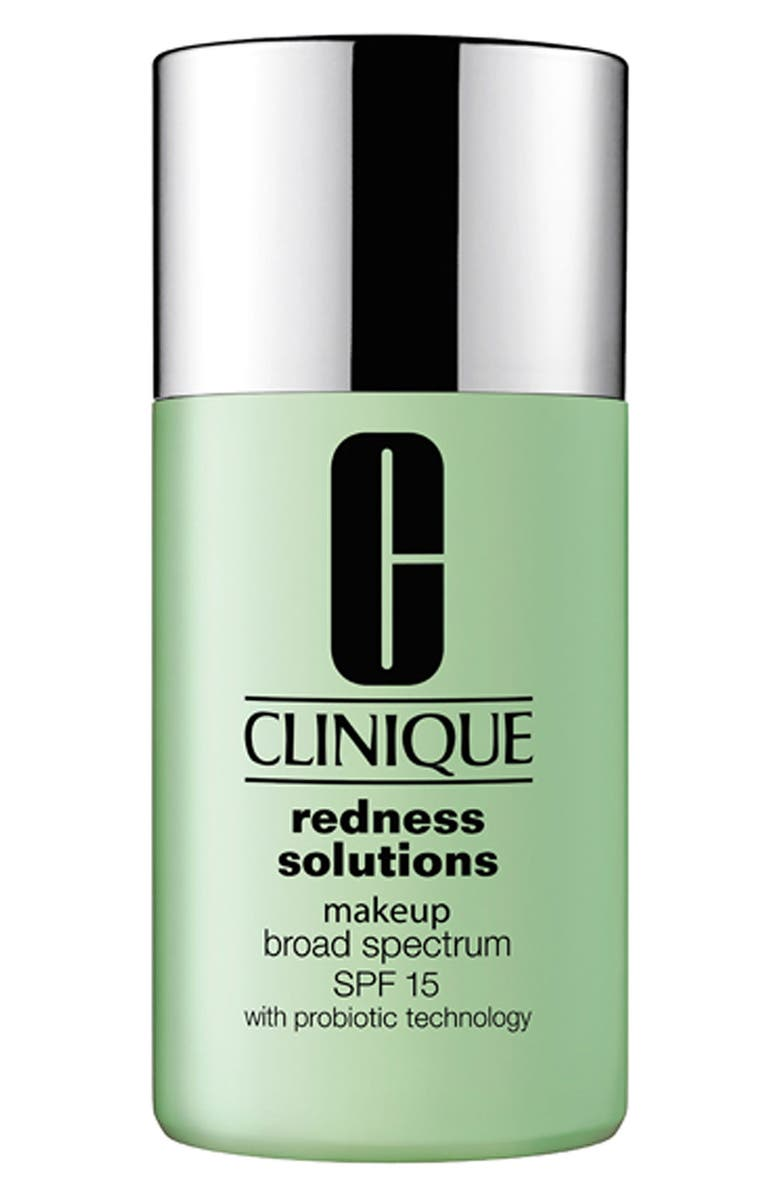 CLINIQUE Redness Solutions Makeup Broad Spectrum SPF 15, Main, color, CALMING ALABASTER