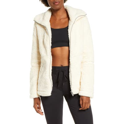 Zella Sadie Fleece Jacket