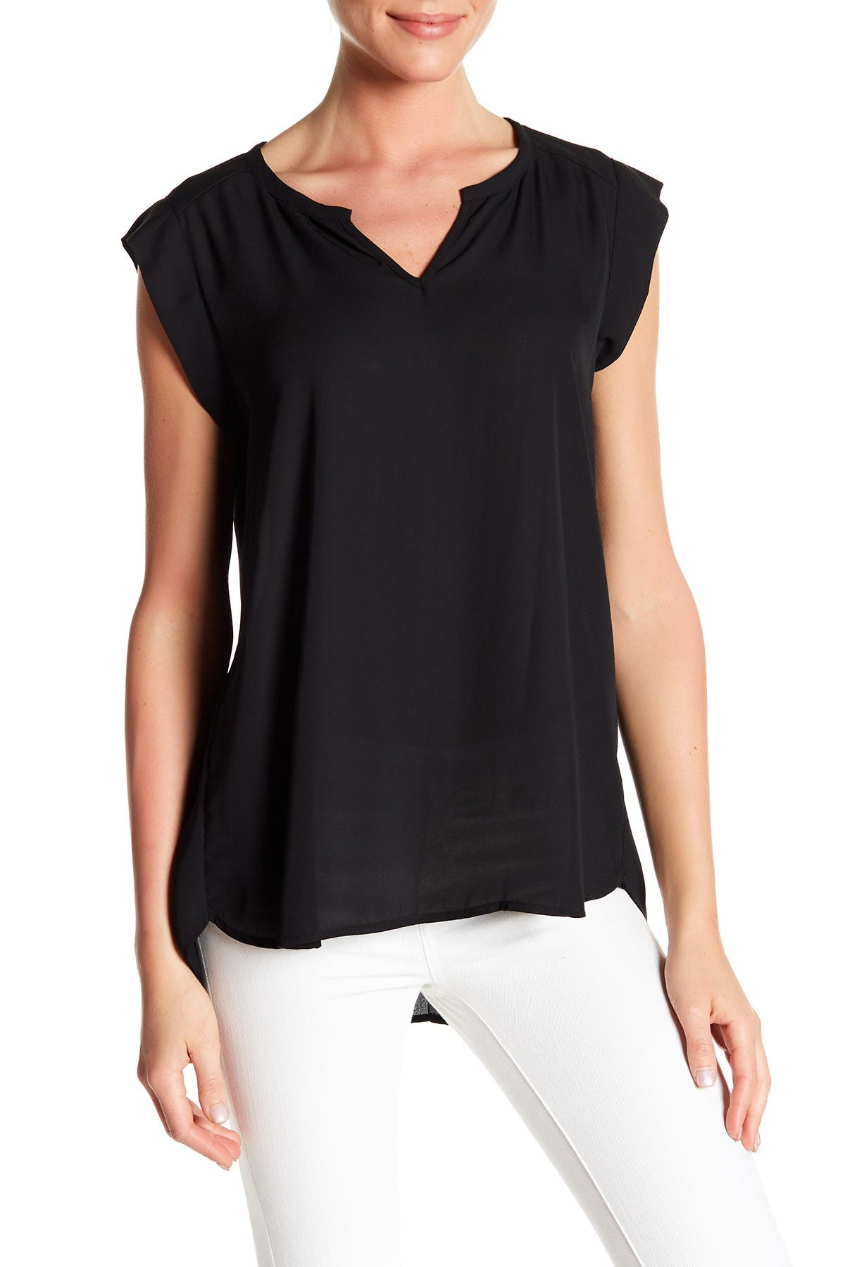 Image of Pleione Chloe Pleat Back Blouse
