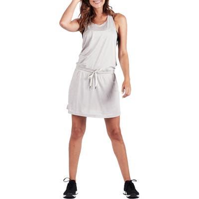 Vuori Sol Tank Dress, Grey