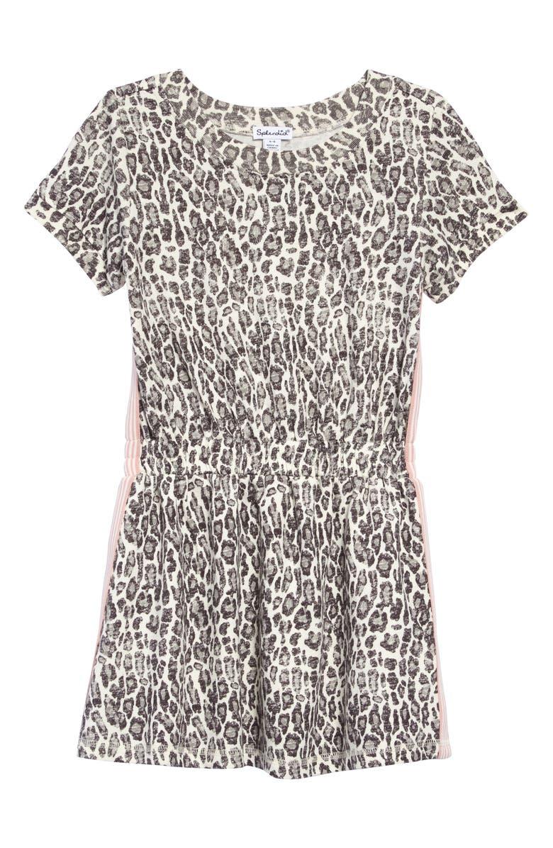 SPLENDID Leopard Print Dress, Main, color, LEOPARD