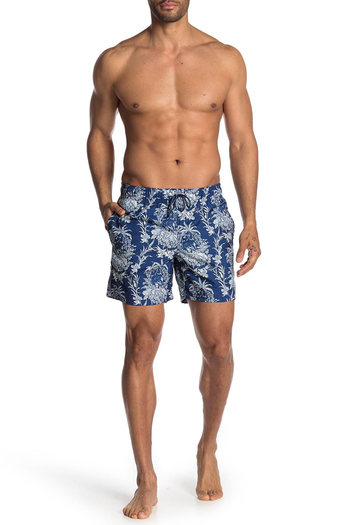 Image of Slate & Stone Printed Swim Shorts