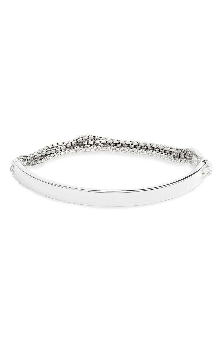 JENNY BIRD Juliette Cuff Bracelet, Main, color, SILVER