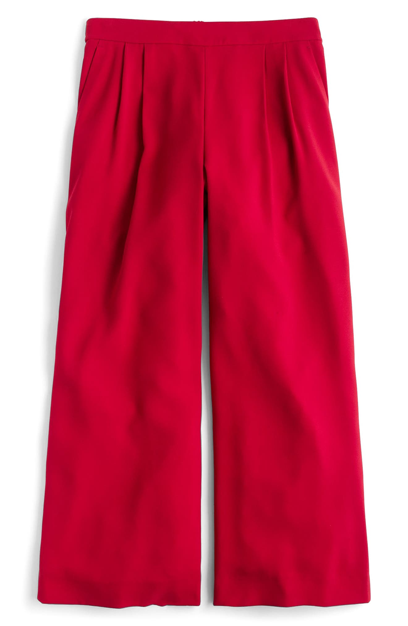 ,                             Wide Leg Crop Pants,                             Alternate thumbnail 13, color,                             600