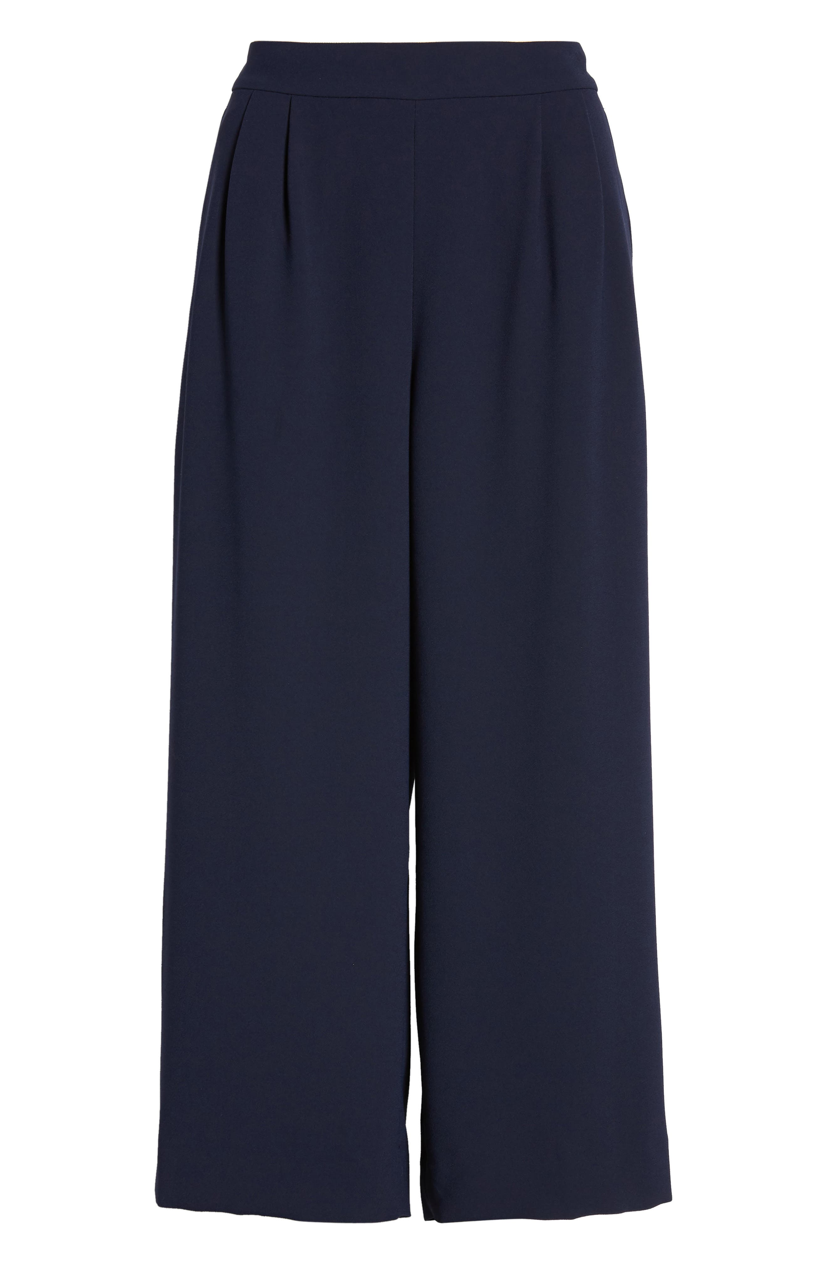 ,                             Wide Leg Crop Pants,                             Alternate thumbnail 10, color,                             400