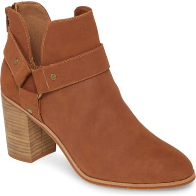 Bc Footwear Miss Independent Vegan Bootie, Brown