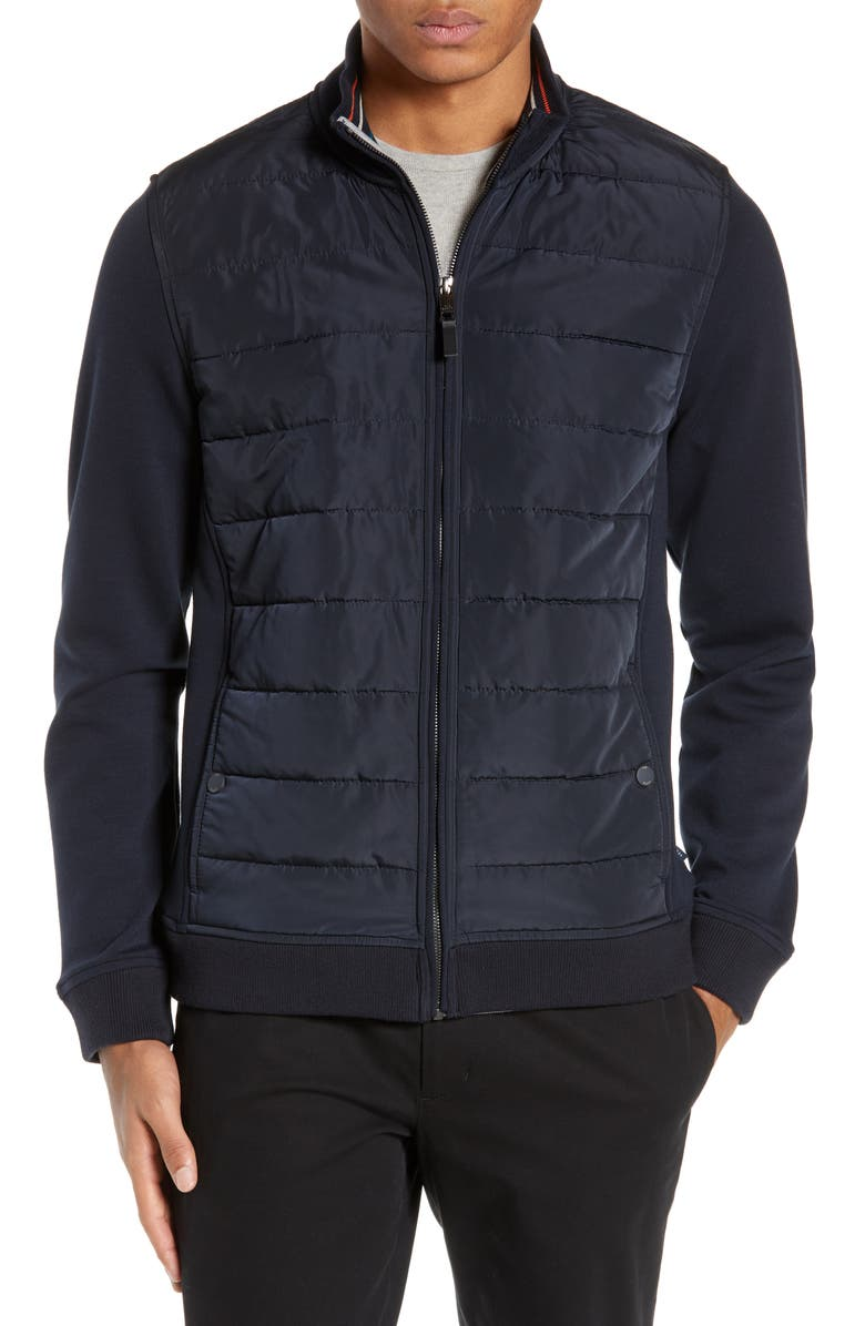 TED BAKER LONDON Mowntan Slim Fit Quilted Jacket, Main, color, 410