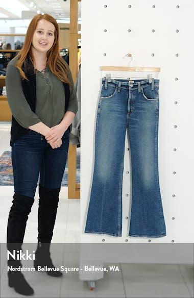 Amelia Vintage High Waist Flare Leg Jeans, sales video thumbnail